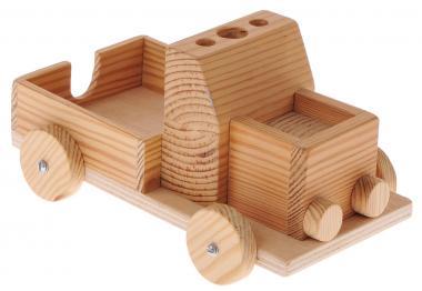 Bloc-notes en bois -Camion-  la pièce