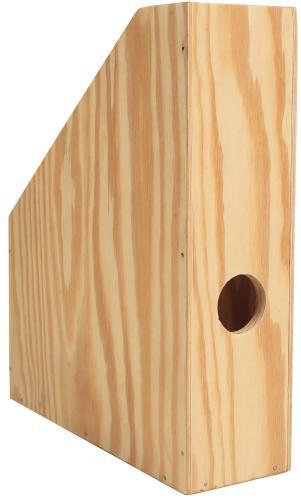 Porte-revues en bois