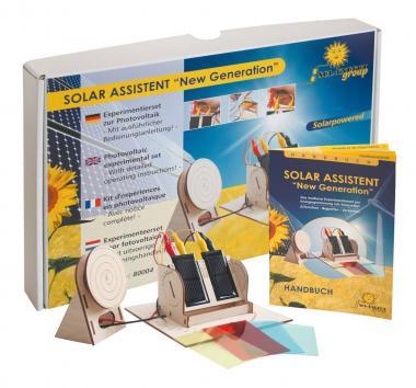 Kit per esperimenti con l'energia solare