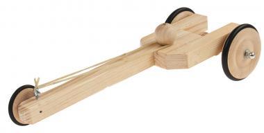 Dragster con azionamento ad elastico, 1 pezzo
