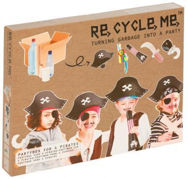RE-CYCLE-ME divertimento creativo pirati