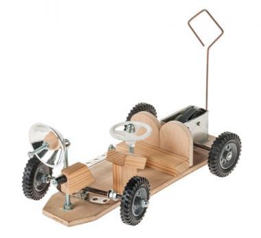 Mondauto mit Federwerk-Getriebemotor