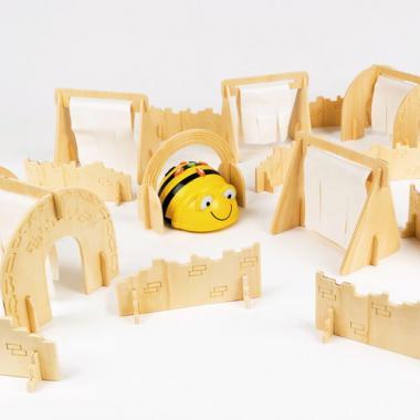 Circuito de obstáculos para Bee-Bot®