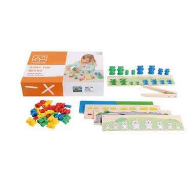 Toys for Life - Sortiere die Bären, 39-teilig