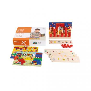 Toys for Life - Finden und Zählen, 57-teilig