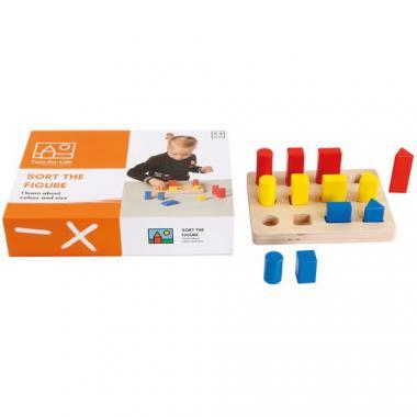 Toys for Life - Sortiere die Figuren, 14-teilig