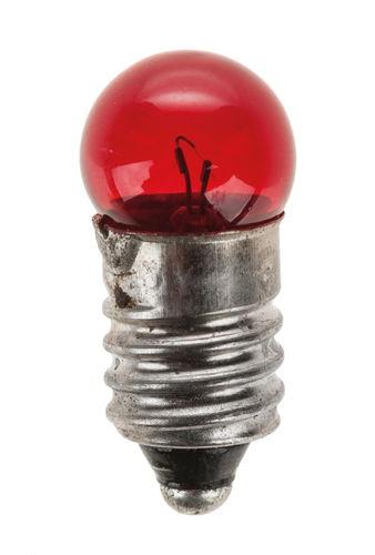 Bombillas rojas (3,5 V/0,2A), 10 ud.