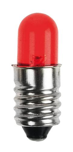 LED rojo E10 (8 mm)