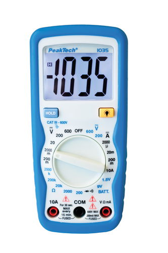 PeakTech Digital-Multimeter 1035
