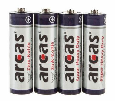 Set batterie arcas®, Mignon AA, 4 pezzi