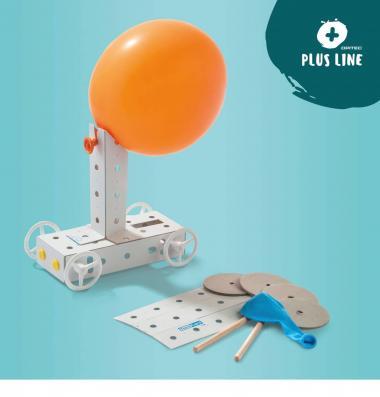 OPITEC PLUS LINE Veicolo azionato da palloncino