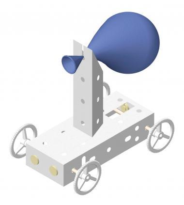 OPITEC PLUS LINE Luftballon-Fahrzeug