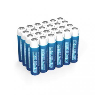 OPITEC batterie alcaline Micro (AAA) - 24 pezzi