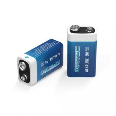 ..Opitec Alkaline Batterie 9 V Block, 1 Stück