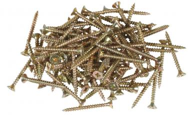 Spanplattenschrauben, 100 Stück 4 x 40