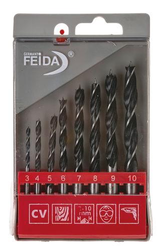 Holzspiralbohrer (8-teilig, 3 - 10 mm)