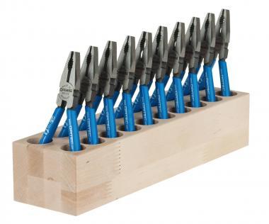 OPITEC Sparset: 10 Kombizangen + Werkzeugblock