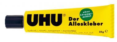 Collante UHU universale senza solvente, tubetto da