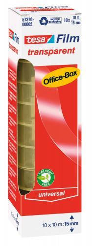 Cinta adhesiva Office-Box, 10 ud. (10 m x 15 mm)