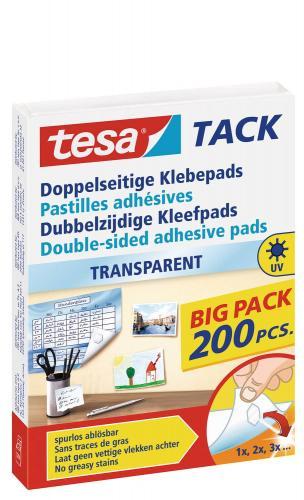 Pastillas adhesivas Tesa Tack Big Pack, 200 ud.