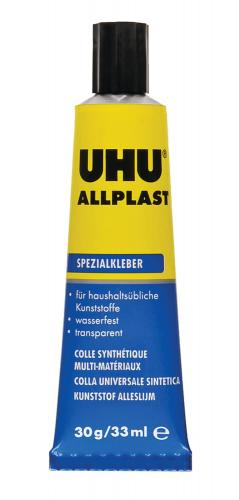 Colle synthétique multi-matériaux UHU, tube 30 g