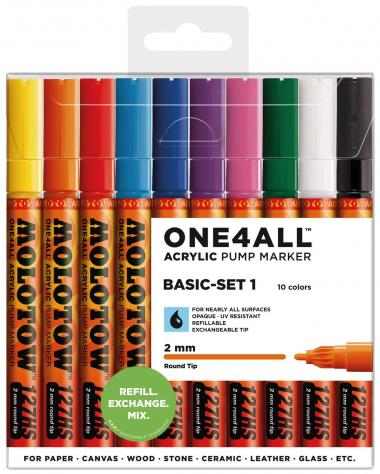 MOLOTOW[TM] ONE4ALL[TM] Acrylic Pump 2 mm - set 10
