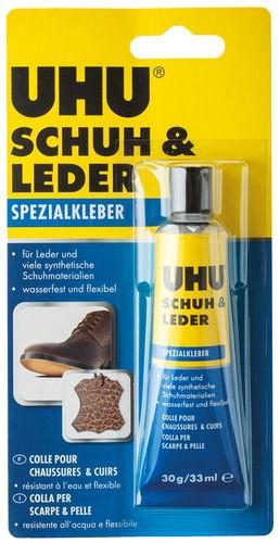 Pegamento especial para calzado y cuero UHU, 30 g