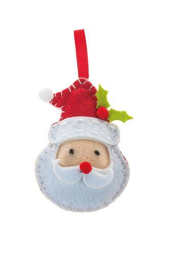 Filz-Nähset Mini-Filzinies Weihnachtsmann
