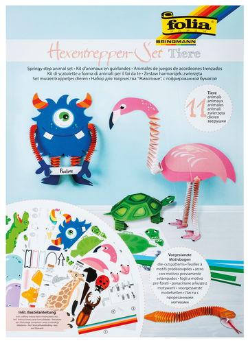 Set creativo - animali fisarmonica