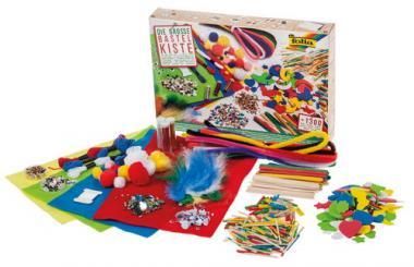 Caja de manualidades XXL (1.300 piezas)