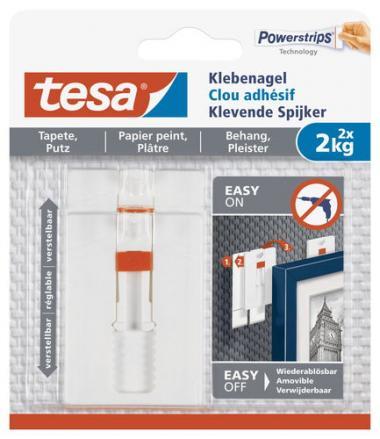 tesa Klebenagel für Tapeten/Putz (2x 2 kg)