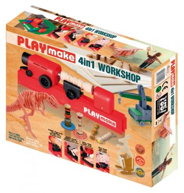 The cool tool PLAYmake 4in1 Workshop - Holz