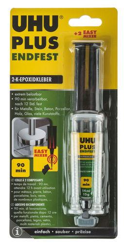 Uhu Plus Endfest 2-K-Epoxidkleber, 15 g