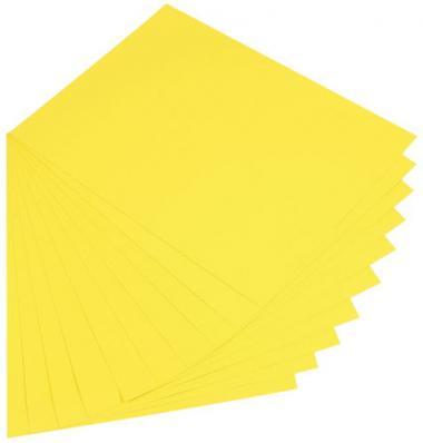 Papel de color, amarillo (50 x 70 cm) 10 hojas
