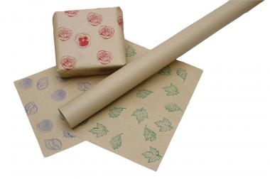Carta da pacchi, 10 x 1 m, 1 rotolo, marrone