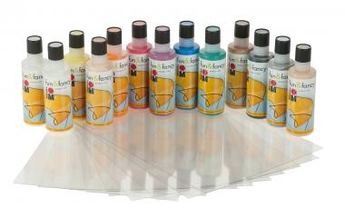 Window Color fun & fancy Sparset, 13 Farben, Folie
