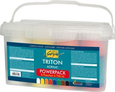 Solo Goya Triton Acryl Basic Power-Set, 8x750ml