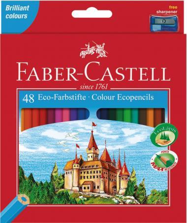 FABER CASTELL matite colorate, 48 matite