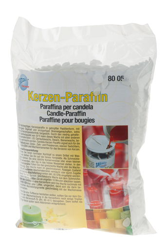 Parafina blanca para velas  (1000 g)