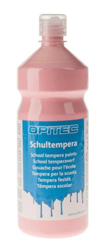 Témpera escolar Opitec , 1000 ml rosa