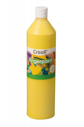 Fingerfarbe Creall, 750 ml gelb