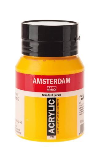 Royal Talens Amsterdam acrilico, 500 ml giallo az.