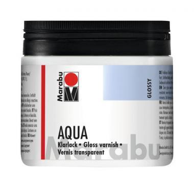 Barniz brillante al agua Marabu (500 ml)