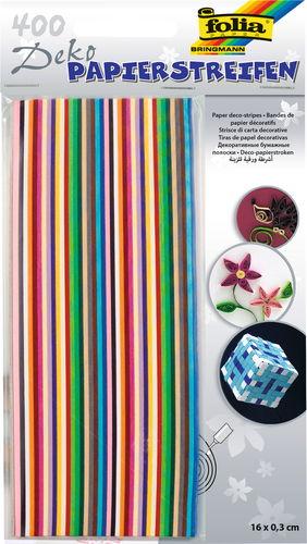 Tiras para trenzar de colores intensos, (3x160m)