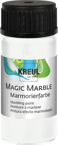 Marmorierfarbe Magic Marble, 20 ml weiß