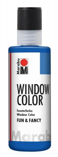 Window Color Fun & Fancy, 80 ml ultramarino