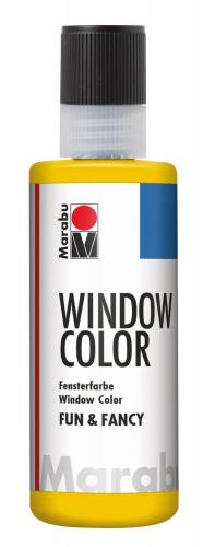 Window Color Fun & Fancy,  80 ml gelb
