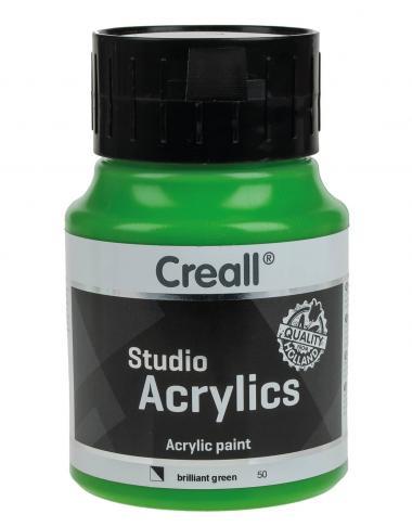 Creall Studio Acrylfarbe, 500 ml brillantgrün