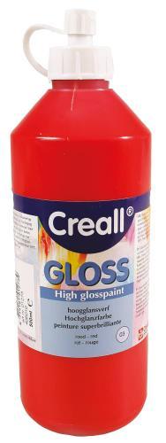 Pintura brillante Creall 500 ml - rojo oscuro