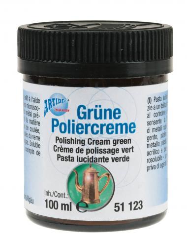 Crema para pulir, 100 ml, verde